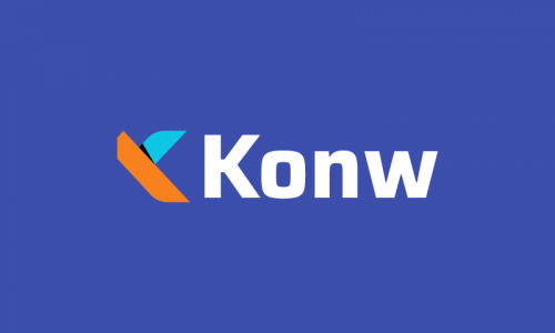Konw - Marketing startup name for sale
