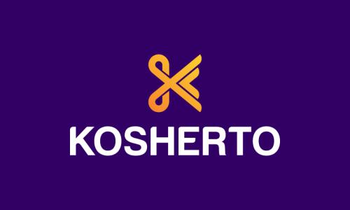Kosherto - Food and drink domain name for sale