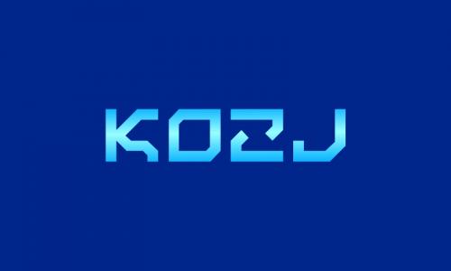 Kozj - Technology startup name for sale