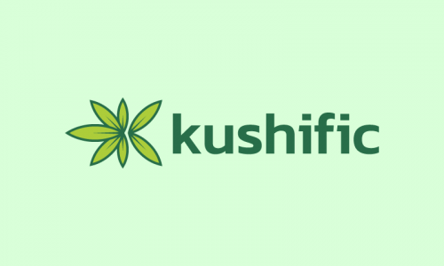 Kushific - Retail company name for sale