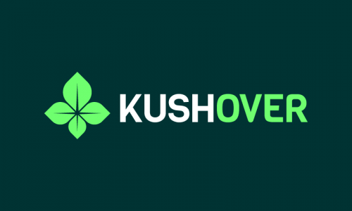 Kushover - Retail company name for sale