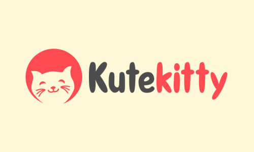 Kutekitty - Modern business name for sale