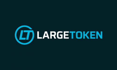 Largetoken - Cryptocurrency brand name for sale