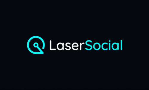 Lasersocial - Social company name for sale