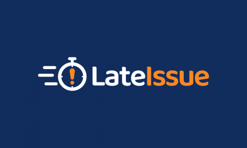 Lateissue - Technology startup name for sale