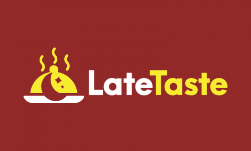 Latetaste - Food and drink business name for sale