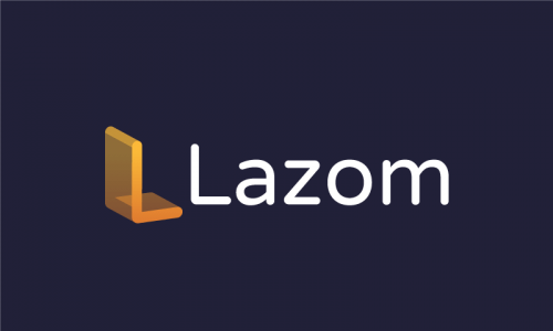 Lazom - Modern business name for sale