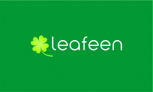 Leafeen - Environmentally-friendly startup name for sale