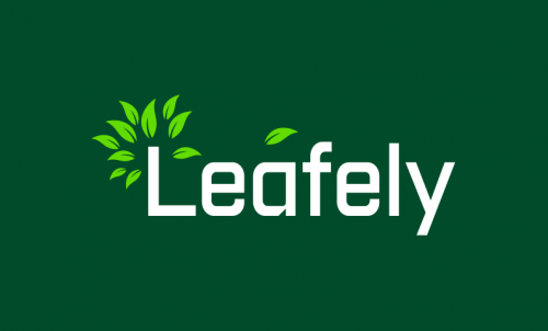 Leafely - Green industry domain name for sale