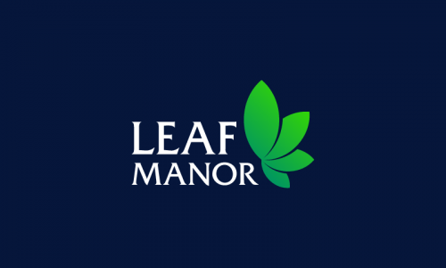 Leafmanor - Dispensary startup name for sale