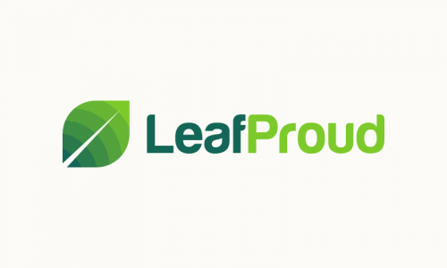Leafproud - E-commerce company name for sale