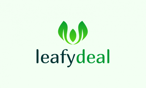 Leafydeal - Food and drink brand name for sale
