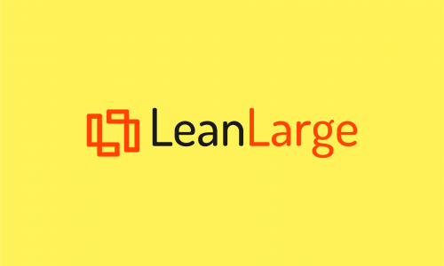 Leanlarge - Fitness domain name for sale