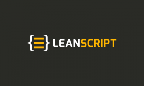 Leanscript - Media startup name for sale