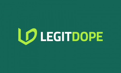 Legitdope - Playful product name for sale