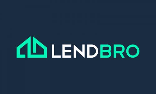 Lendbro - Loans startup name for sale