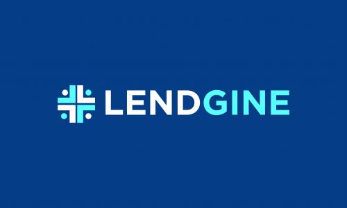Lendgine - Loans company name for sale
