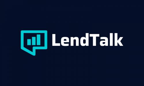 Lendtalk - Banking company name for sale
