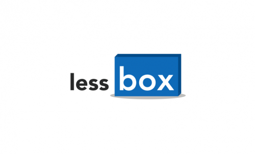 Lessbox - Storage startup name for sale