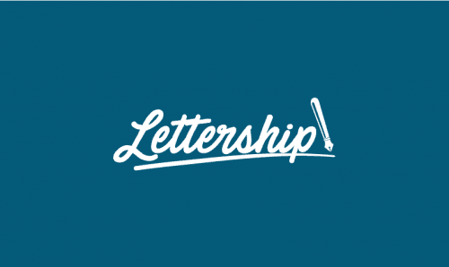 Lettership - Writing brand name for sale