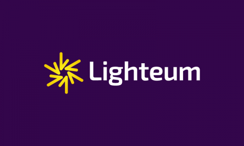 Lighteum - Electronics domain name for sale