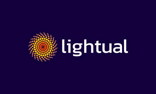 Lightual - Beauty brand name for sale
