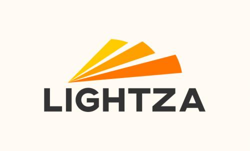 Lightza - Contemporary brand name for sale