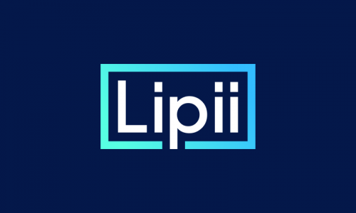 Lipii - Beauty startup name for sale