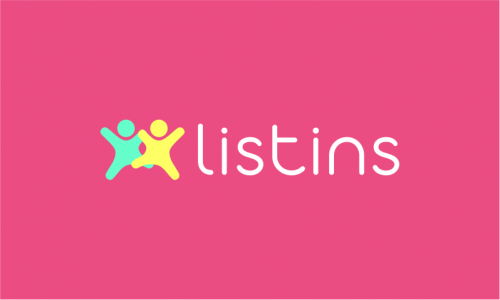 Listins - Insurance startup name for sale