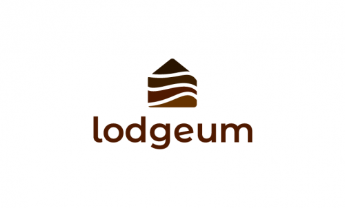 Lodgeum - Travel startup name for sale