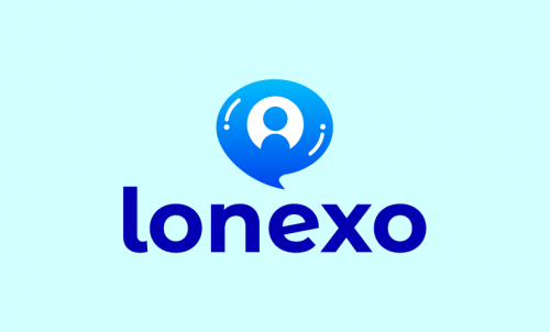 Lonexo - Retail company name for sale