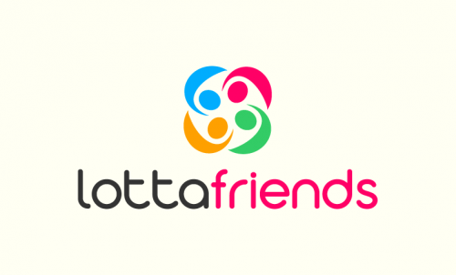 Lottafriends - Social networks business name for sale