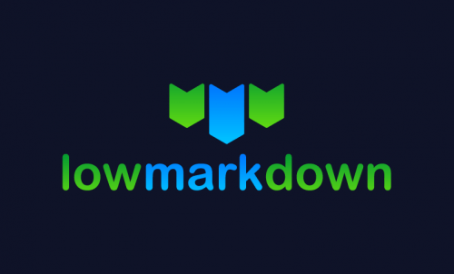Lowmarkdown - Technology product name for sale