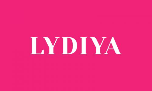 Lydiya - Healthcare domain name for sale