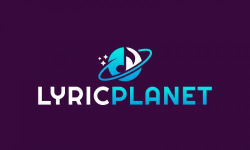 Lyricplanet - Music brand name for sale