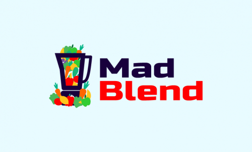 Madblend - Food and drink business name for sale