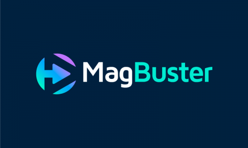 Magbuster - Writing startup name for sale