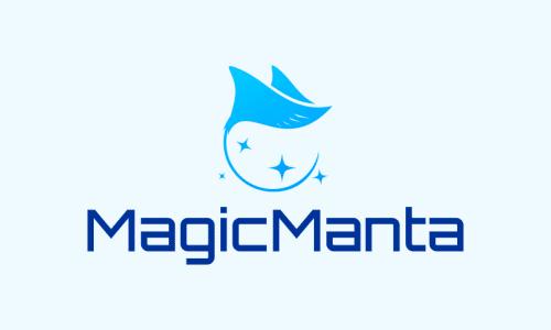 Magicmanta - E-commerce startup name for sale
