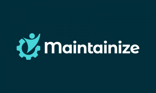 Maintainize - Modern brand name for sale
