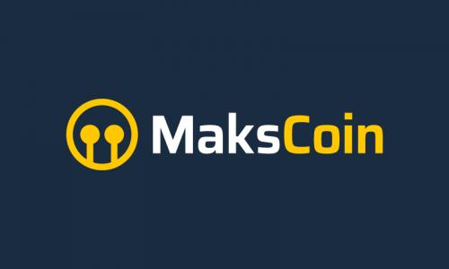 Makscoin - Finance business name for sale