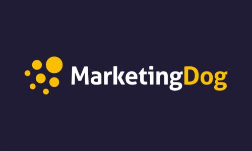 Marketingdog - Marketing company name for sale