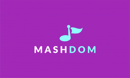 Mashdom - Music startup name for sale