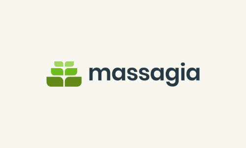 Massagia - Technical recruitment startup name for sale
