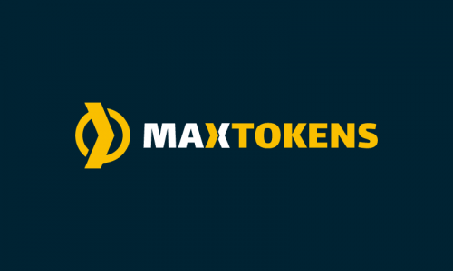 Maxtokens - Cryptocurrency brand name for sale