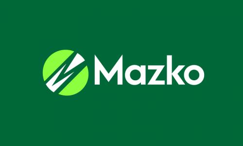 Mazko - Technology company name for sale