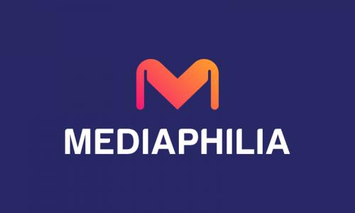 Mediaphilia - Media brand name for sale