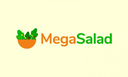 Megasalad - Retail brand name for sale