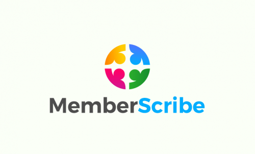 Memberscribe - Writing company name for sale
