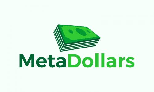 Metadollars - Finance company name for sale