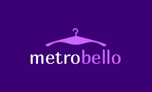Metrobello - Retail startup name for sale